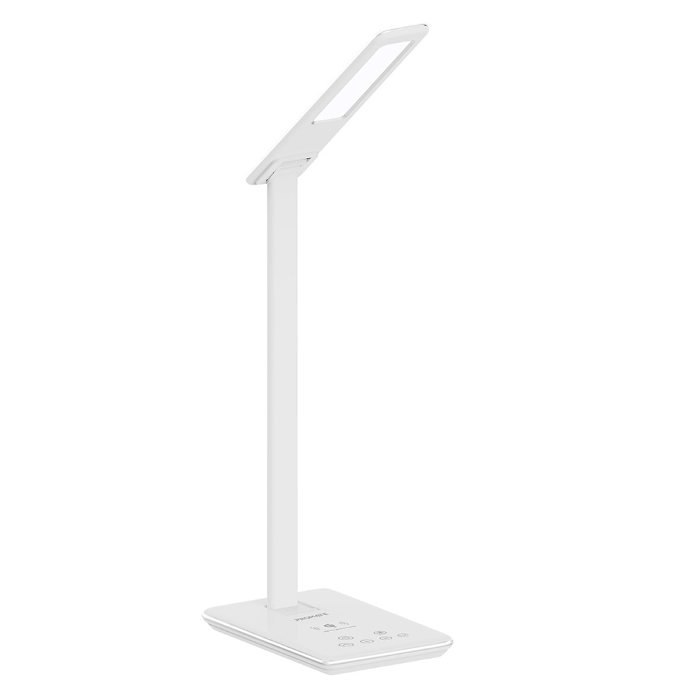 Buy Promate Desk Lamp With Wireless Charger Foldable 10w Qi Wireless Charging Led Desk Lamp With 500 Lumen Bright Led Light Online Dubai Uae Ourshopee Com Ow2784