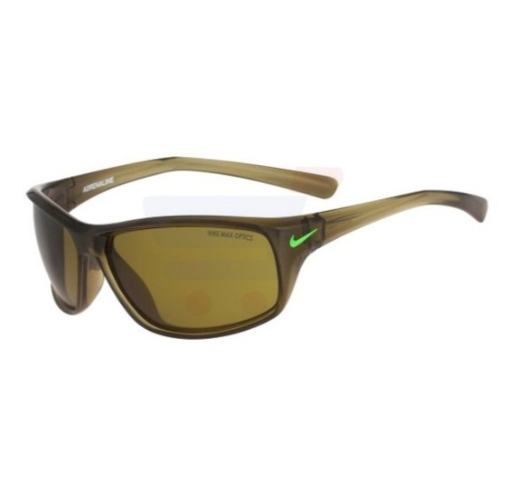 Nike Wrap Around Brown Crystal Frame & Brown Mirrored Sunglasses For Men - EVO605-330