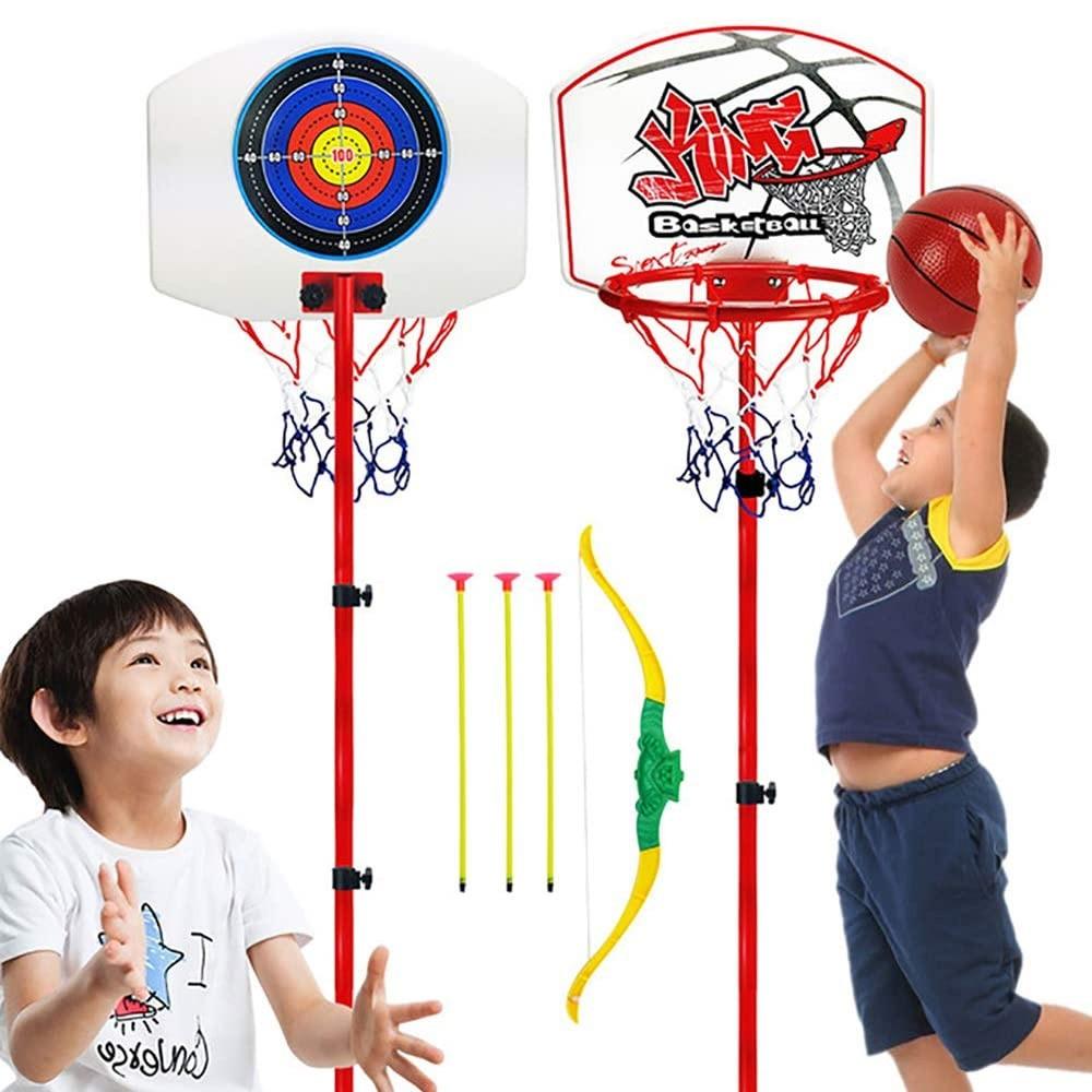 2 in 1 Kids Basket ball Plus Archery Set