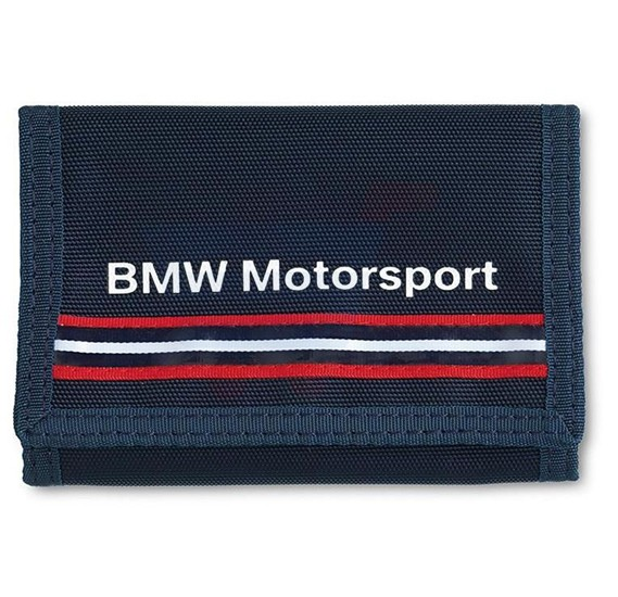 BMW Velcrow Wallet Blue MotorSport