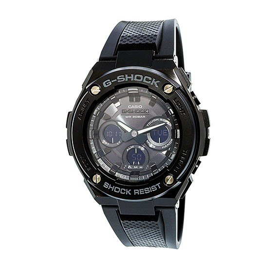 Casio G-Shock Analog-Digital Black Dial Mens Watch-GST-S300G-1A1DR