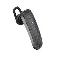 Hoco wireless Bluetooth  Earphone , 50 mAh Battery, Black,E1