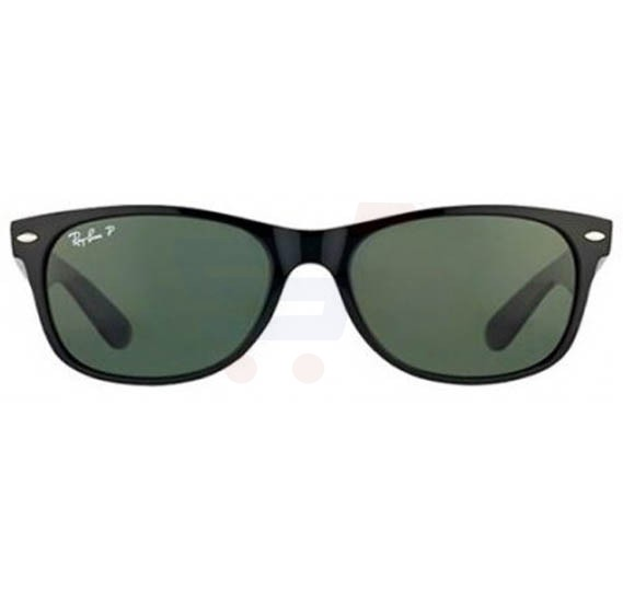 Ray-Ban Wayfarer Black Frame & Green Mirrored Sunglasses For Unisex - RB2132-901-58-52