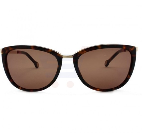 Carolina Herrera Wayfarer Havana Frame & Brown Gradient Mirrored Sunglasses For Women - SHE046-300Y