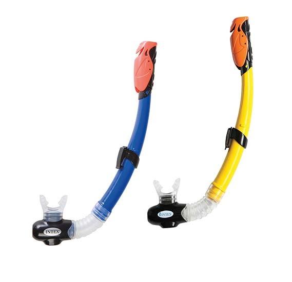 Intex Hyper-Flow Jr.Snorkels 2 Colors, Pvc Carry-Bag, 55923
