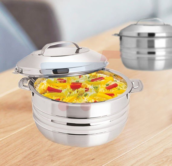 RoyalFord Stainless Steel Esteelo Hot Pot 8Litre, RF8417