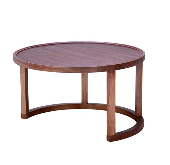 Stories Brunswick Coffee Table With High-Grade Walnut Finish STR13868