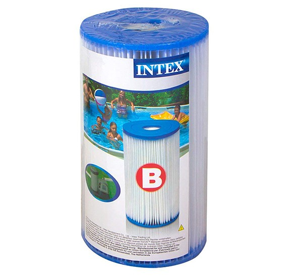 Intex-Filter cartridge B, shrink wrap w/ litho-29005