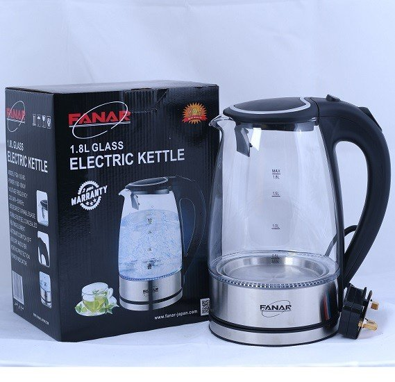 Fanar 1.8L Glass Electric Kettle