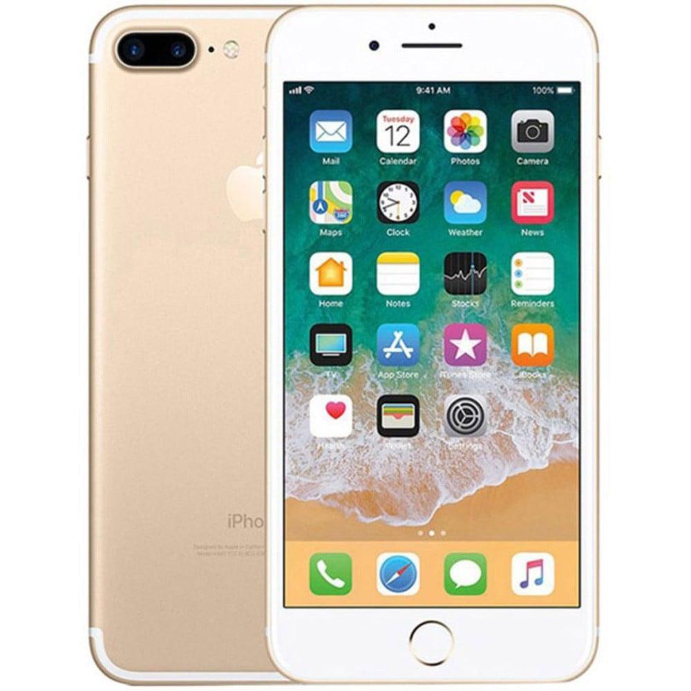 Apple iPhone 7 Plus, 3GB RAM 128GB Storage, 4G LTE, Gold, Activated