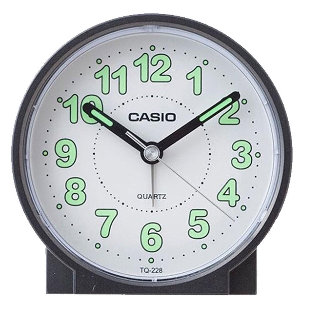 Casio Round Alarm Clock, TQ-228-1DF