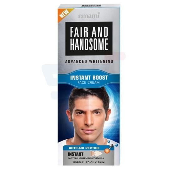 Emami Fair & Handsome Instant Boost Fairness Cream 25Gm