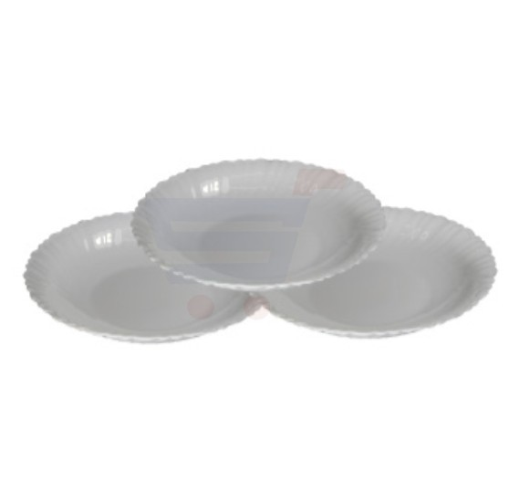 Flamingo Opal Ware Soup Plate 9.5 Inch - FL7307OW