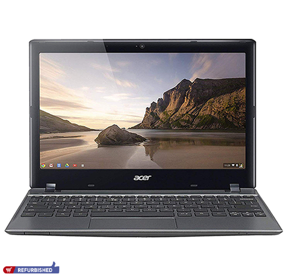 Acer Chromebook C720 Laptop, Intel 2955U Processor, 11.6 Inch Screen, 2GB RAM, 16GB Storage, Chrome OS