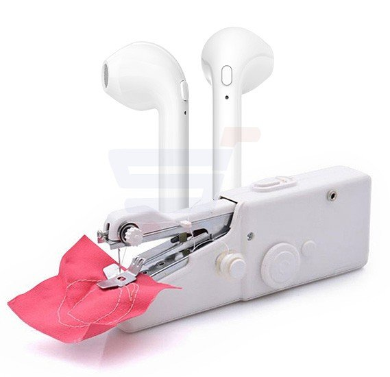 2 in 1Offer Handy Stitch with HBQ-i7, Double Side Wireless Bluetooth Earphone