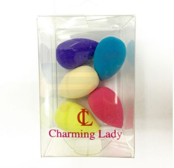 Charming Lady Mini Precision Makeup Sponge, 5 Pieces