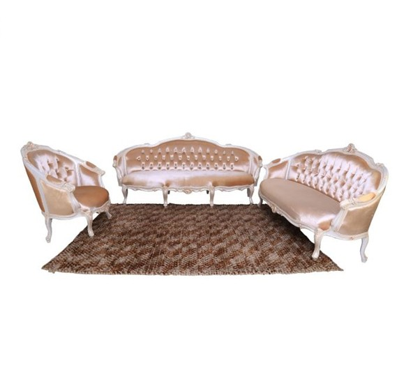 Stories Solona 3+2+1 Sofa Set with Coffee Table STR12430S