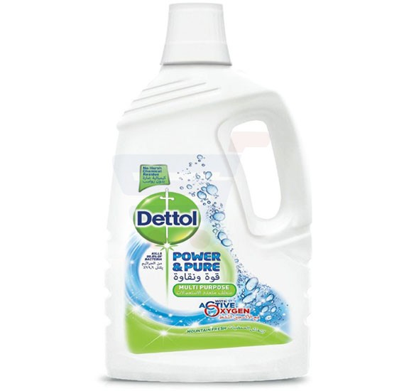 Dettol Mountain Fresh Power and Pure Multi-Purpose Cleaner 3L