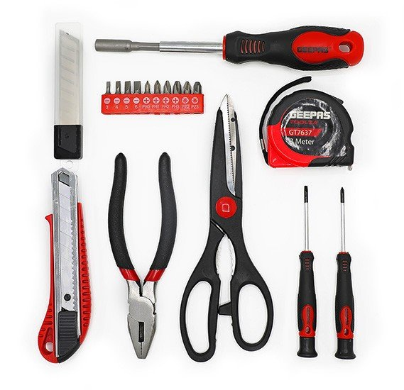 Geepas 18 Pcs Tool Kit - GT7637