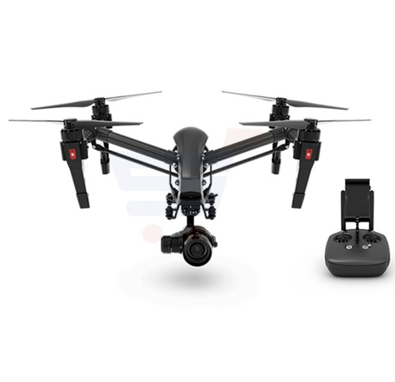 DJI Inspire 1 Pro Black Edition with 4K Drone Camera & Extra Battery - Inspire Series Black Edition