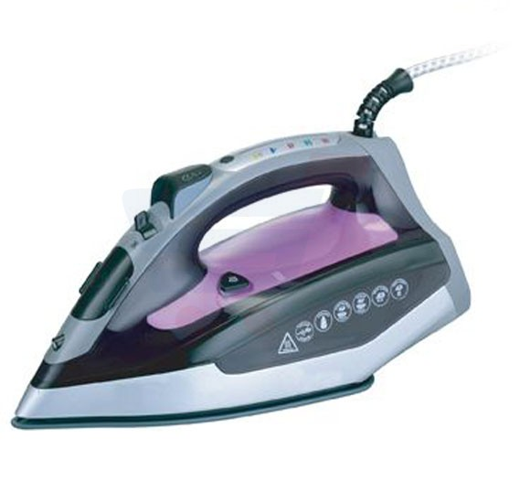 Clikon Steam Iron With Fire Safe 2 Trigger Shut Off - CK4117