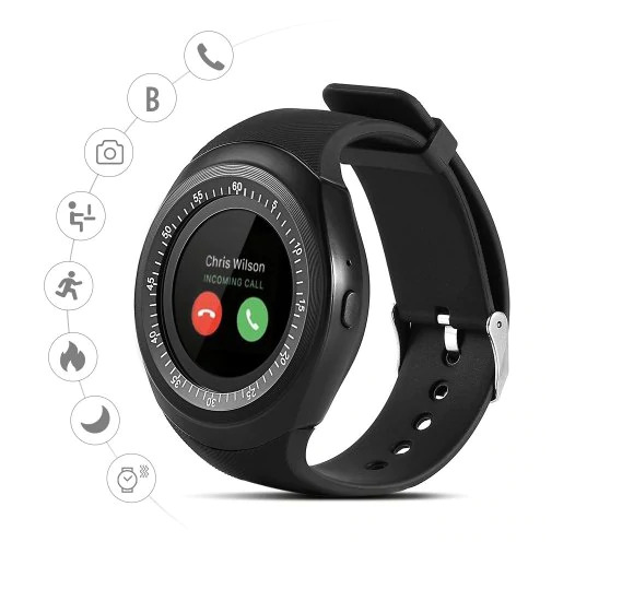 Zooni Y1 Bluetooth Smart Watches With Micro Sim And TF Card