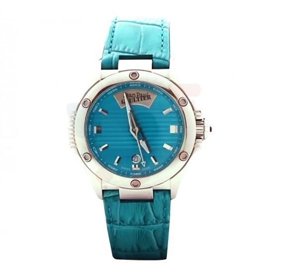 Jean Paul Gaultier Swiss Made Men Blue Watch - JPG0101001