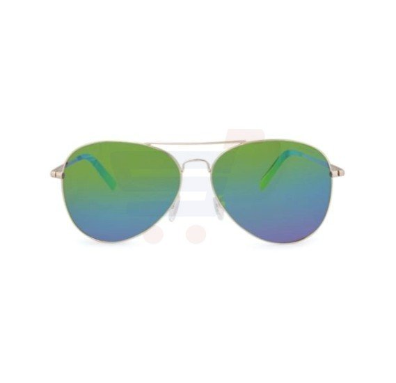 Nautica Aviator Gold Frame & Multi Mirrored Sunglasses For Unisex - N4611SP-712