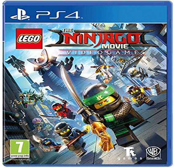 Warner Bros Lego Ninjago Movie Game For PS4