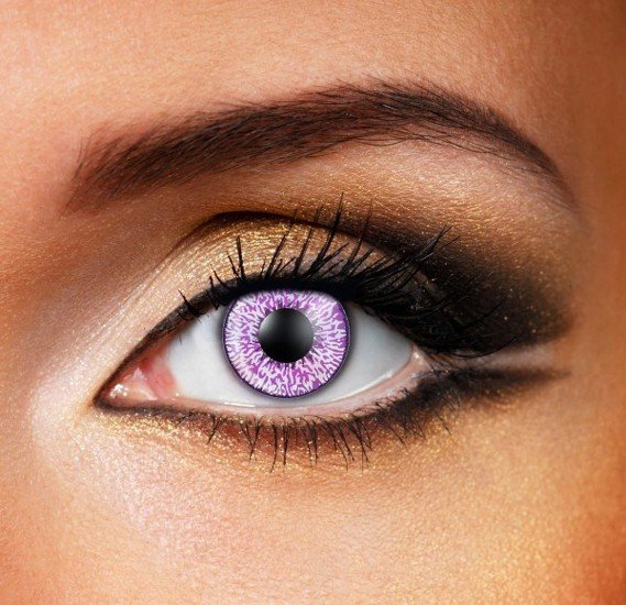 Mystic Violet Colour Eye Contact Lense