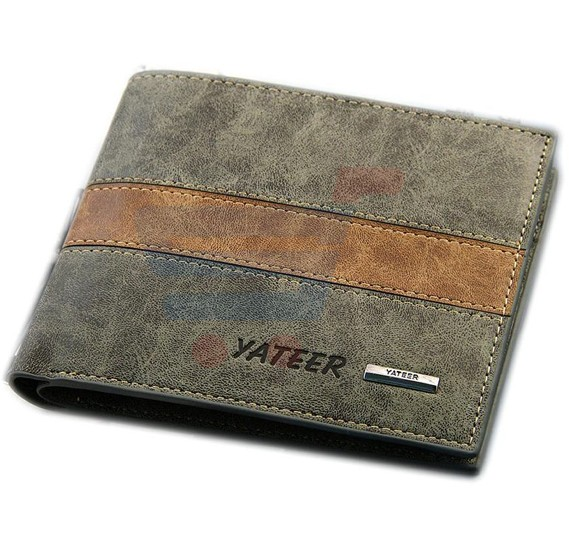 Multi Color Leather Wallet For Men