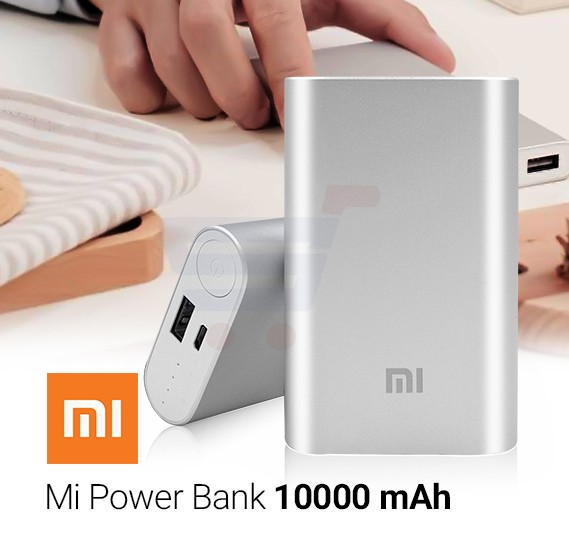 Xiaomi Mi Powerbank 10000mAh - Silver