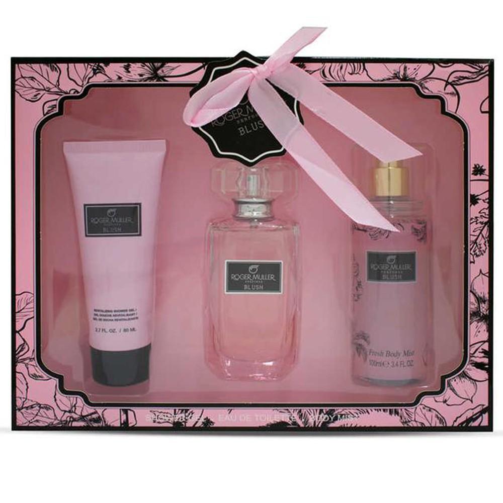 Roger Muller Perfumes Blush For Women Eau De Toilette, 50ML Set