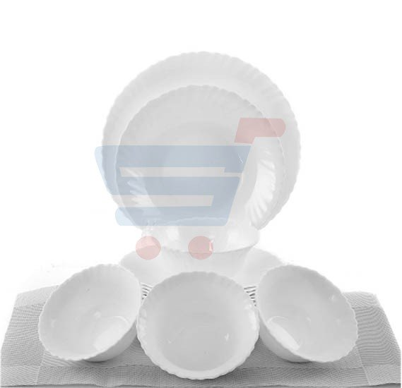 Epsilon 16 Pieces Opalware Dinner Set EN3539