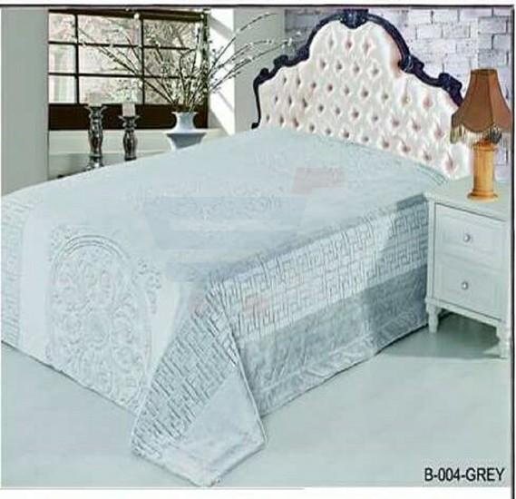Senoures Classic Blanket Double 220X240CM - B-004 Grey