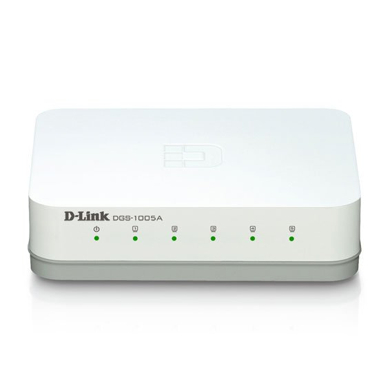D-Link DGS1005A 5-Port Gigabit Desktop Switch