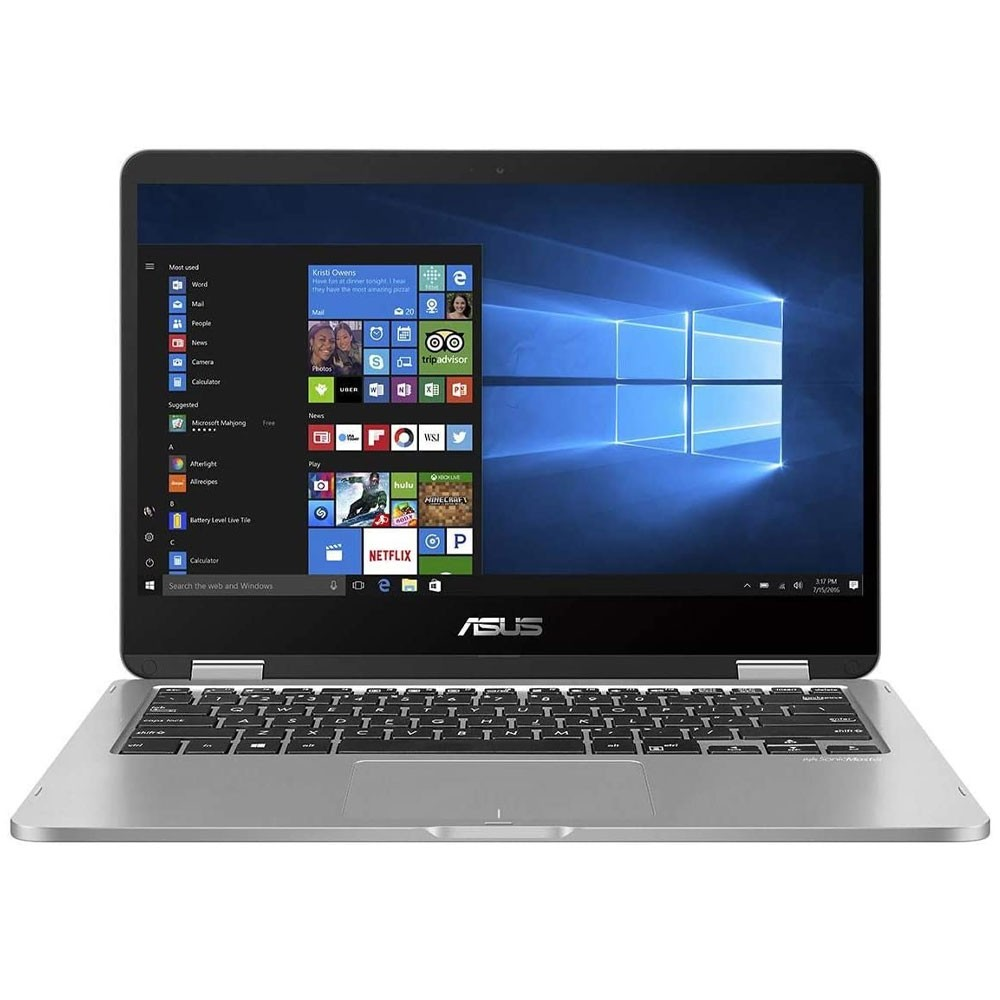Asus Vivobook X415JA-BV012T Laptop 14 Display Intel i3 1005G1 Processor 4GB RAM 256GB SSD Storage Intel UHD Graphics Win10, Silver