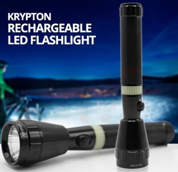 Krypton Rechargeable LED Flashlight KNFL5028
