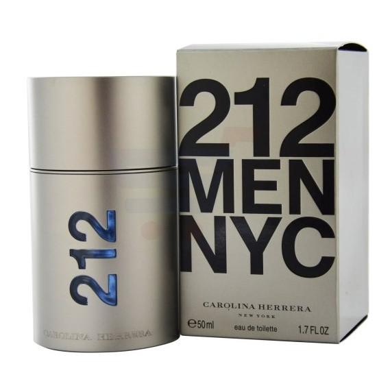 Carolina Herrera 212 NYC EDT 50ml For Men