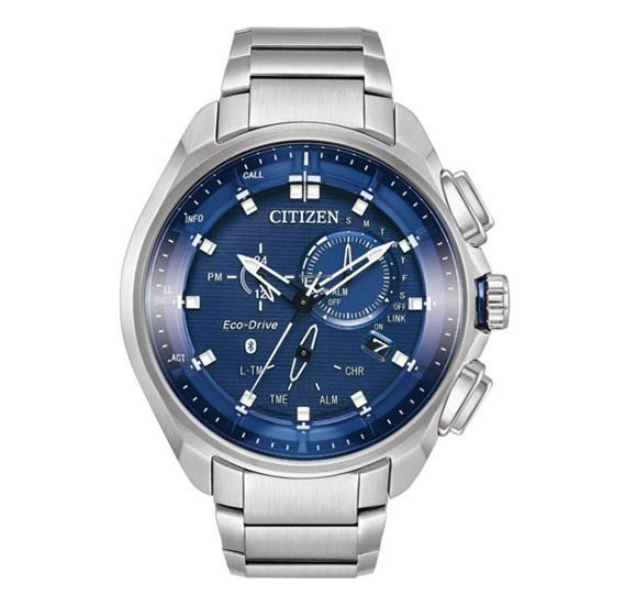 Citizen Mens Water Resistant Stainless Steel Analog Watch, BZ1029-87L