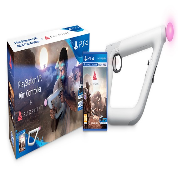 SIEE Farpoint VR with Aim Controller For PS4