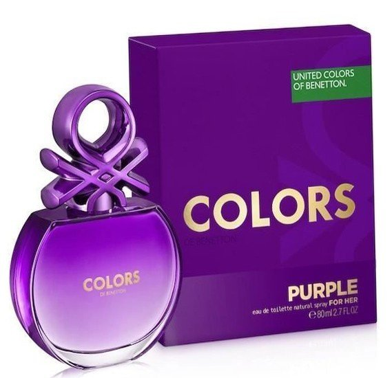 Colors De Benetton Purple for Women EDT 80ml