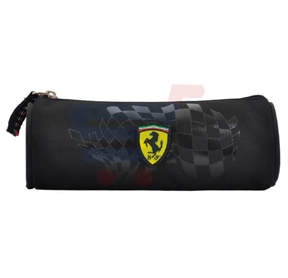 Ferrari Silver Horse Black Pencil Case Rd PC - SLSH07107