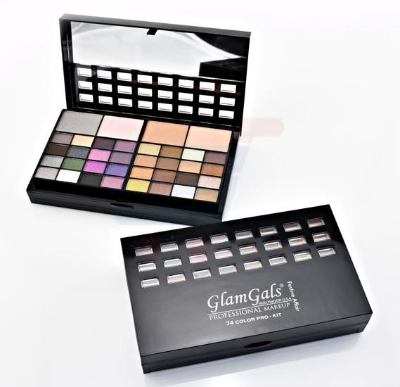 GlamGals Makeup Pro-Kit 74 Color