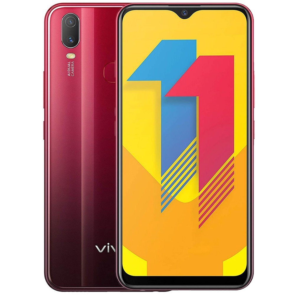 Vivo Y11 Dual SIM 3GB RAM 32GB 4G LTE-Red