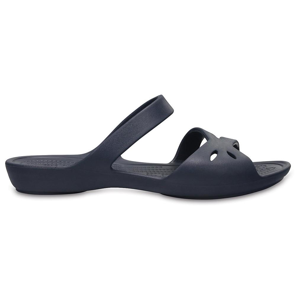 Crocs Womens Clogs Slippers Kelli Sandal  Pool, Size 35