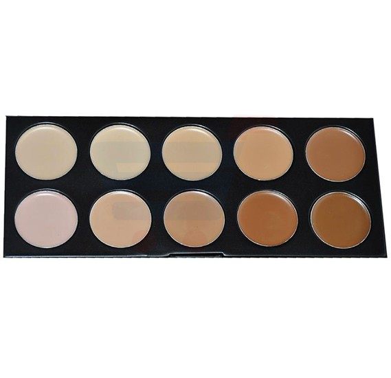 GlamGals 10 Color Concealer - SFWA010A