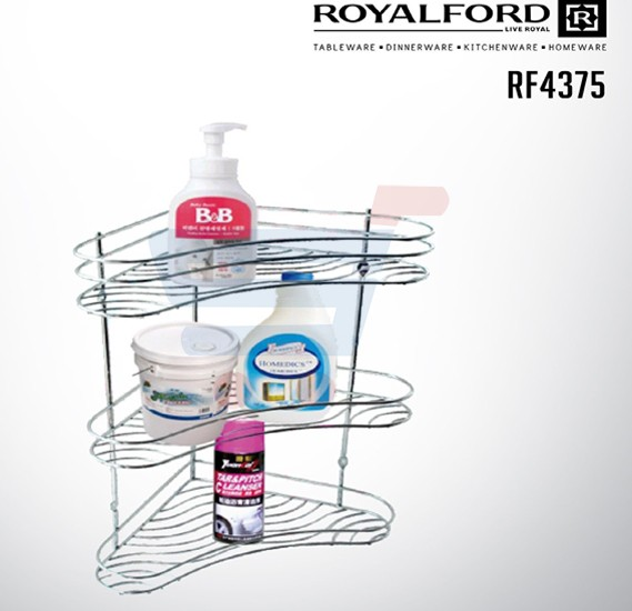 Royalford 3 Layer Corner Rack - RF4375