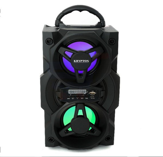 Krypton Rechargeable Portable Speaker, KNMS6049