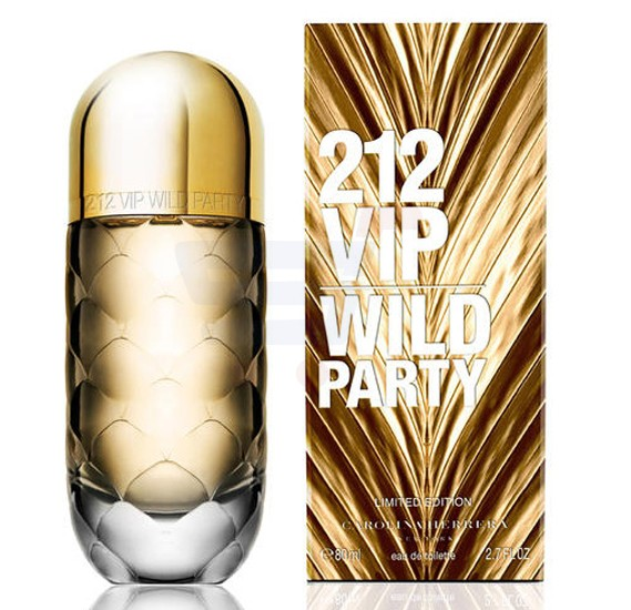 Carolina Herrera 212 VIP Wild Party Limited Edition EDT 80ml For Men